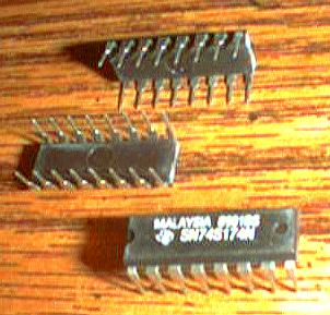Lot of 25: Texas Instruments SN74S174N   Pic 2