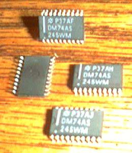 Lot of 38: National Semiconductor DM74AS245WM Pic 2