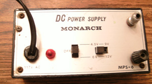 MONARCH MPS-6 DC Power Supply Pic 2