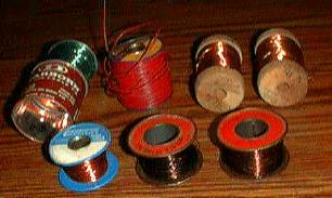 Lot: 7 Partial Reels of Wire Plus Loose Pile Pic 1