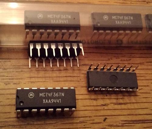 Lot of 20: Motorola MC74F367N