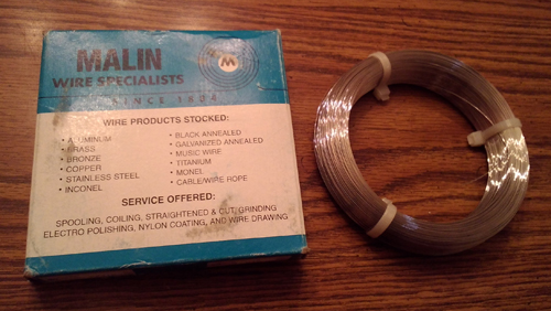 Lots of One Pound: Malin Stainless Steel Wire