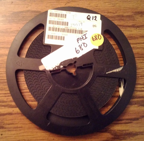 Lot of 680 ?: Philips MMBT2222A T/R