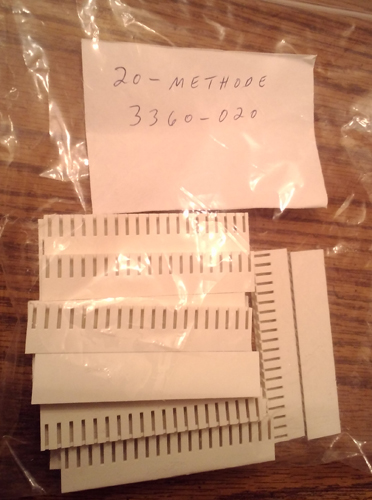 Methode Electronics 3360-020 :: 20 Position Crimp Receptacle