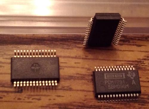 Lot of 3: Burr Brown Texas Instruments PCM1791ADB