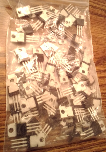 Lot of 56: Fairchild FDP75N08A MOSFETs