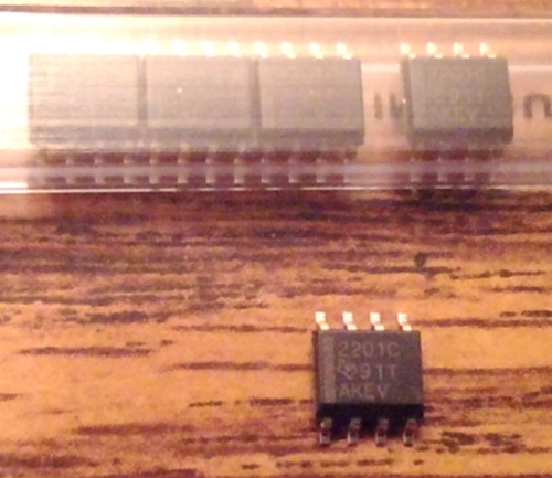 Lot of 5: Texas Instruments TLC2201CDG4