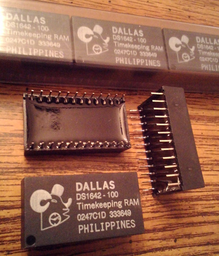 Lots of 14: DALLAS DS1642-100 Timekeeping RAM