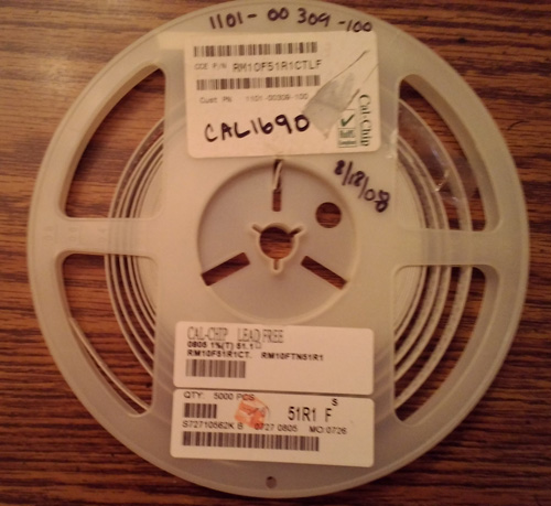 Partial Reel of Cal-Chip RM10F51R1CTLF :: FREE Shipping