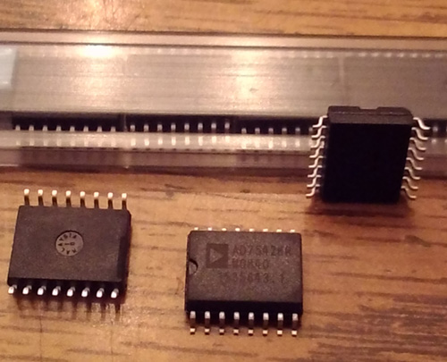Lot of 57: Analog Devices AD7542KR