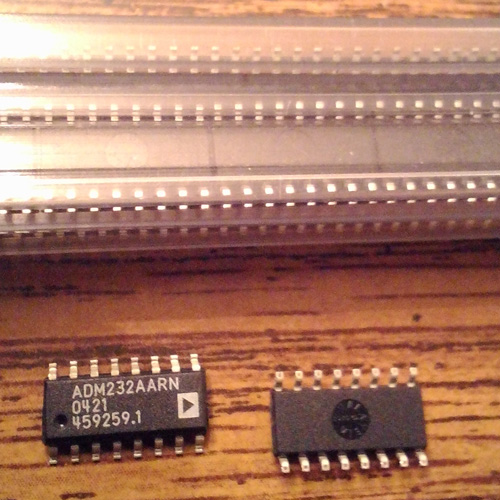 Lot of 120: Analog Devices ADM232AARN