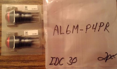 Lot of 2: Idec AL6M-P4PR