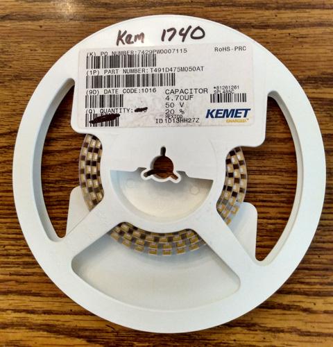 Lot of 100 ?: Kemet T491D475M050AT Tantalum Capacitors