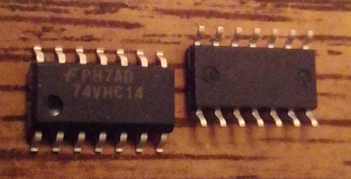 Lot of 63: Fairchild 74VHC14M-LF