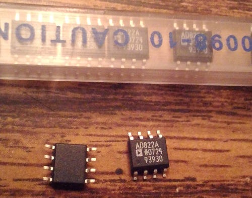 Lot of 11: Analog Devices AD822A
