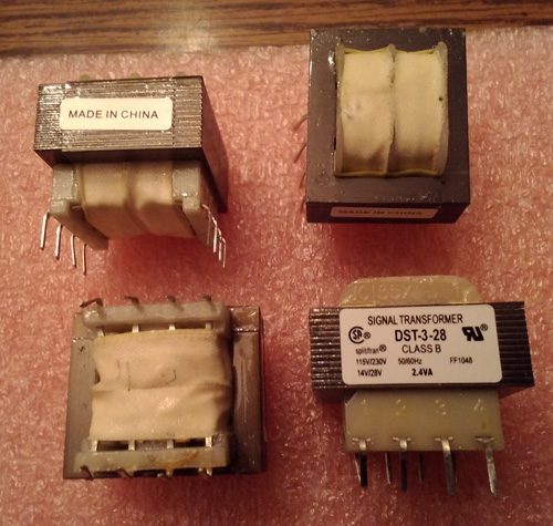 Lots of 4: Signal Transformer DST-3-28