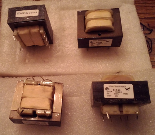 Lot of 4: Signal Transformer ST-5-24