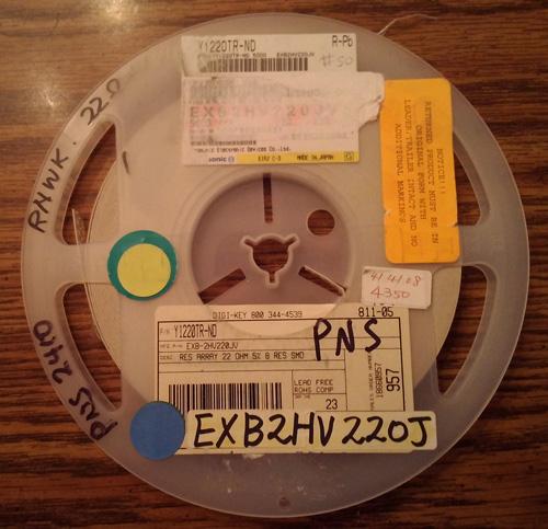 Lot of 4350 ?: Panasonic EXB-2HV220JV Resistors