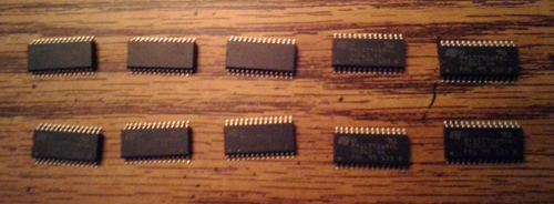 Lots of 10: STMicroelectronics M41ST95WMX6