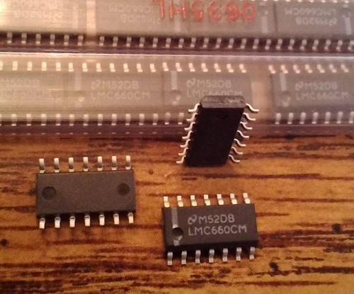 Lot of 143: National Semiconductor LMC660CMX/NOPB