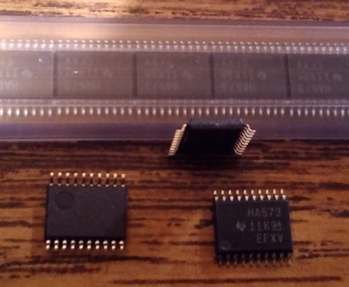 Lot of 69: Texas Instruments SN74AHC573PW