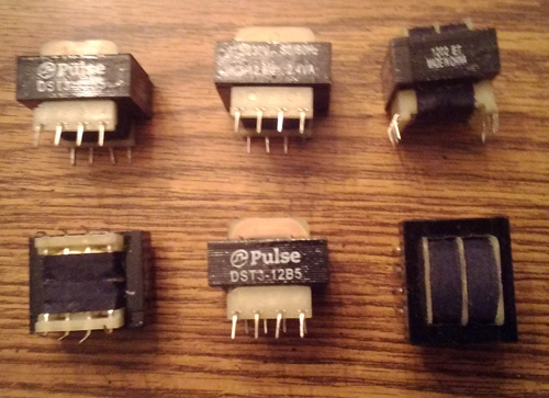 Lots of 6: Pulse DST3-12B5 Transformers