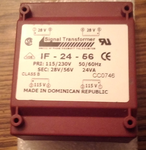 Signal Transformer IF-24-56 Split Bobbin Power Transformer