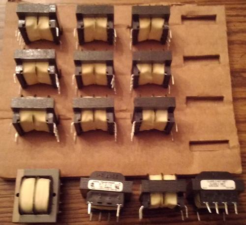 Lots of 13: Signal Transformer ST-2-12 Split/Tran Laminated 1.1VA Thru Hole