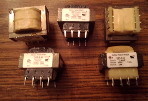 Lot of 5: Signal Transformer DST-3-12