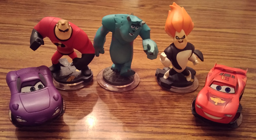 Disney Infinity PS3 Bundle Pic 1