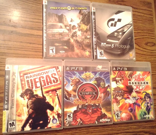 Lot of 10: PS3 games Pic 1