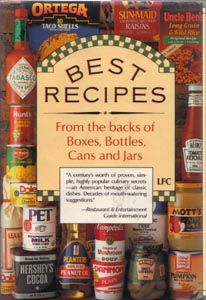BEST RECIPES From the backs of Boxes, Bottles, Cans and Jars :: 1989 HB w/ DJ  Pic 2