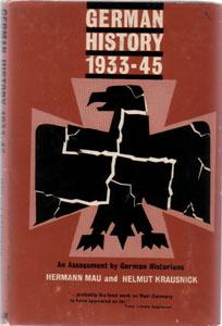 GERMAN HISTORY 1933 - 45 :: 1963 HB w/ DJ