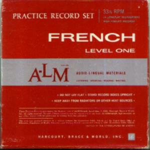 French Level One Practice Record Set Pic 1