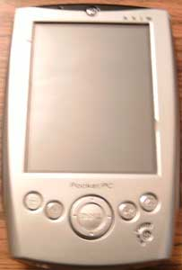 Dell Axim Pocket PC with Charger   Pic 1