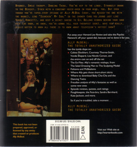 ALLY MCBEAL: THE TOTALLY UNAUTHORIZED GUIDE :: 1998 Pic 2