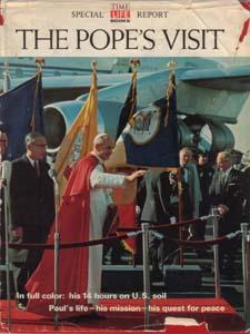 THE POPE'S VISIT :: 1965 HB w/ DJ Pic 1
