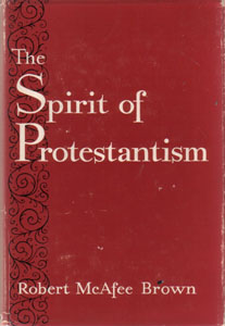 THE SPIRIT OF PROTESTANTISM :: 1961 HB w/ DJ Pic 1
