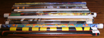 LOT of 12: Various Unused Posters :: Lot # 2