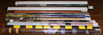 LOT of 12: Various Unused Posters :: Lot # 5