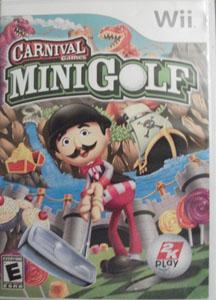Lot of 2 Wii Games: CARNIVAL MINIGOLF & REDNECK JAMBOREE Pic 1