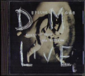 DEPECHE MODE LIVE :: Songs of Faith and Devotion CD Pic 1