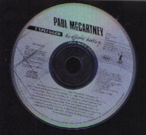 PAUL McCARTNEY :: UNPLUGGED the official bootleg CD