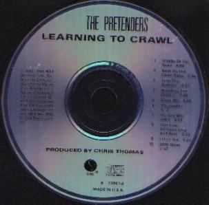 THE PRETENDERS :: Learning to Crawl CD