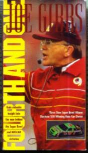 FOURTH AND ONE :: JOE GIBBS :: VHS