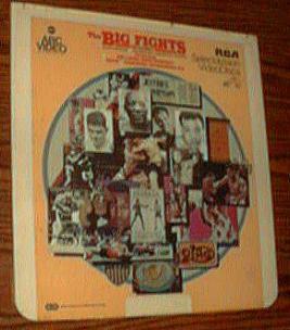 The Big Fights Volume 2 CED Selectavision Videodisc 1