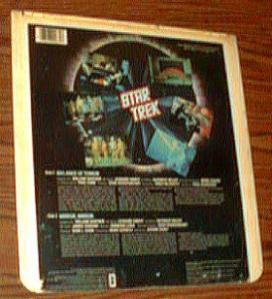 Star Trek Balance of Terror/Mirror, Mirror CED Selectavision Videodisc Pic 2